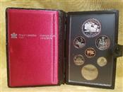 1981 Royal Canadian Mint Proof Set With Silver Dollar - W/Box